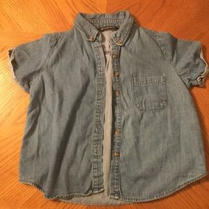 Brandy Melville denim blouse